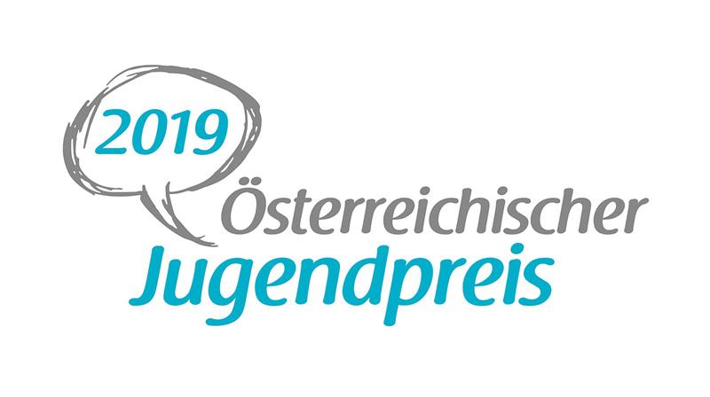 Logo Österreichischer Jugendpreis 2019