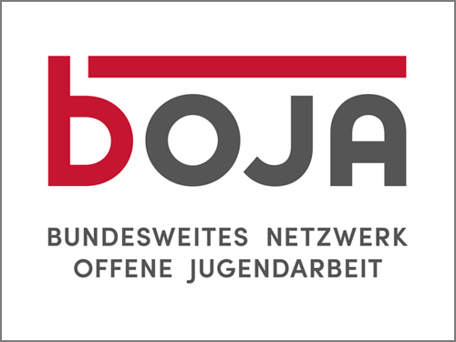 Logo boja - Bundesnetzwerk Offene Jugendarbeit